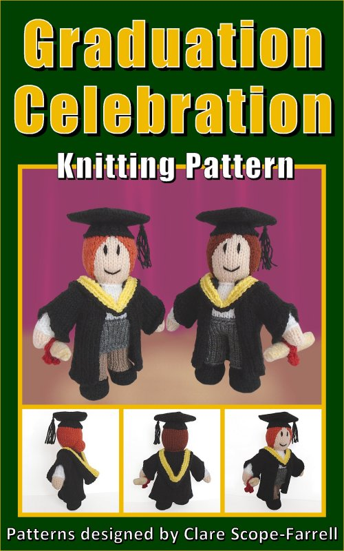 Clare Scope Farrell Novelty Knitting Patterns Graduation Celebration