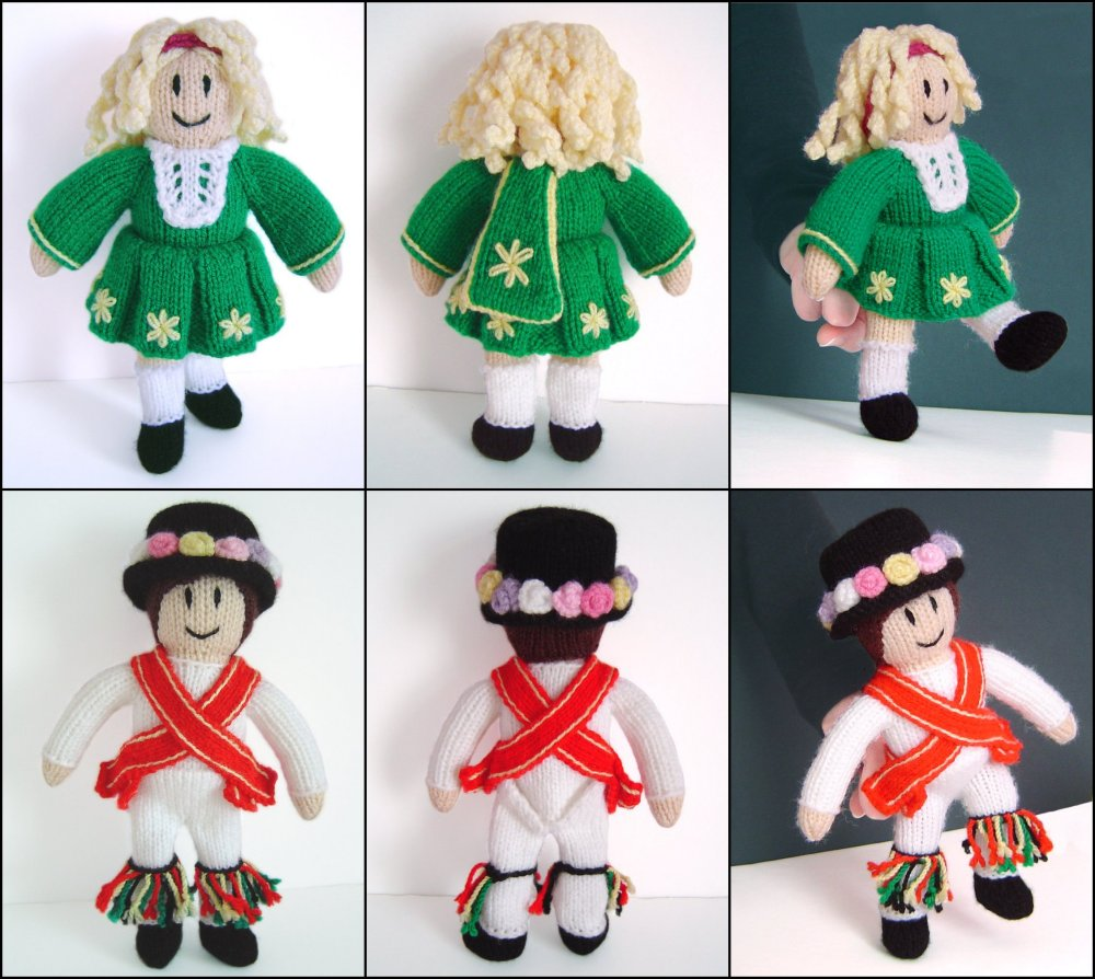 Clare Scope-Farrell Novelty Knitting Patterns - Irish Girl and ...