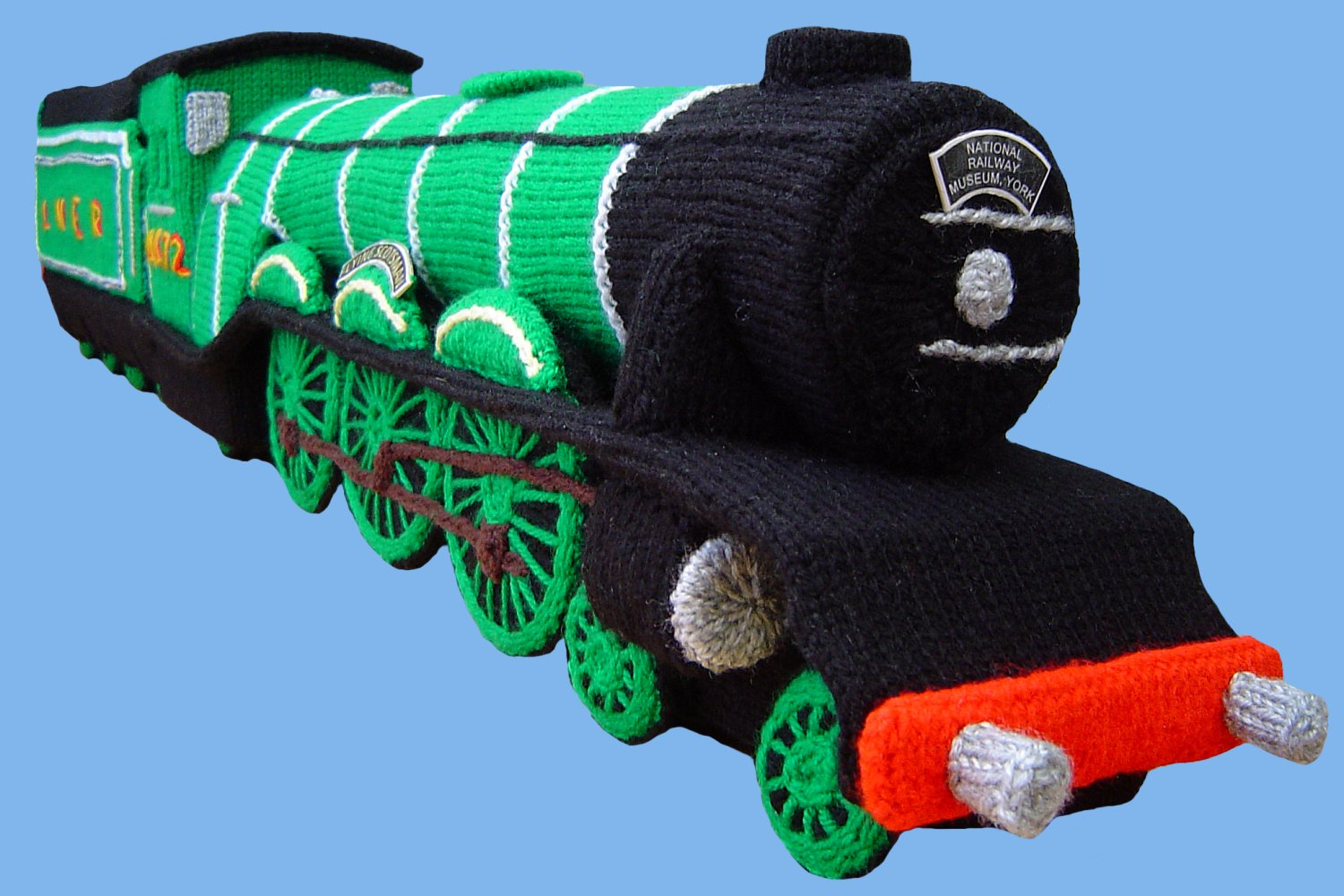 Free Novelty Knitting Patterns : Clare Scope-Farrell Novelty Knitting Patterns - News - Choo-choo! Its th...