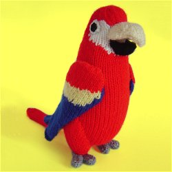 Parrot Knitting Pattern Free : Clare Scope-Farrell Novelty Knitting Patterns - News ...