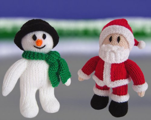 Knitted Father Christmas Pattern Free : Clare Scope-Farrell Novelty Knitting Patterns - News - Ho! Ho! Ho! Lets ...