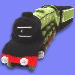 Knitting Pattern For Toy Train : Clare Scope-Farrell Novelty Knitting Patterns - Free Knitting Patterns
